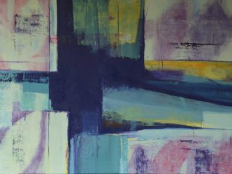 Blues, Study after Swezy – SOLD