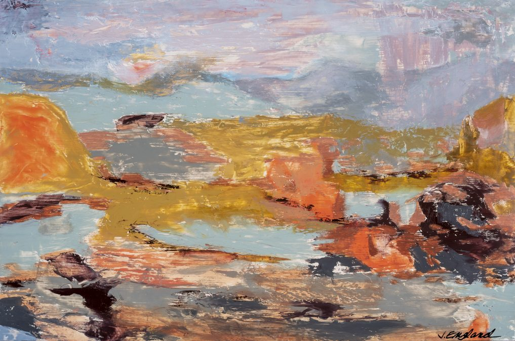 Ghost Ranch Abstract