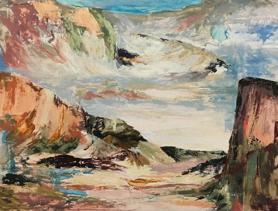 Two Landscapes in Mind – SOLD