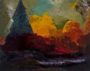 Vermont Fall – SOLD