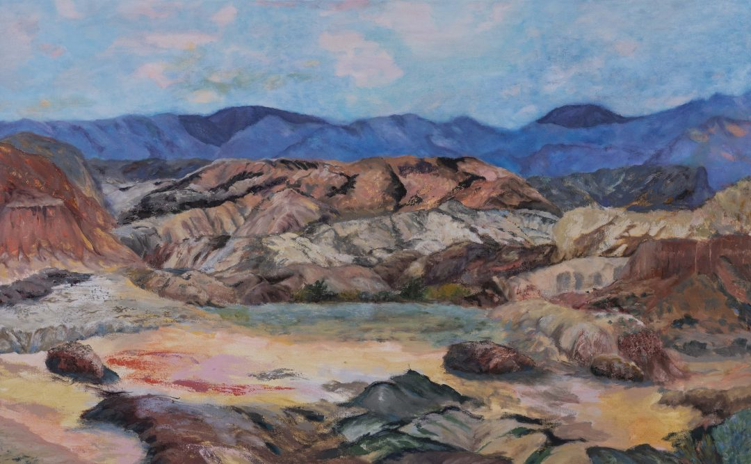 Red and Yellow Hills – SOLD