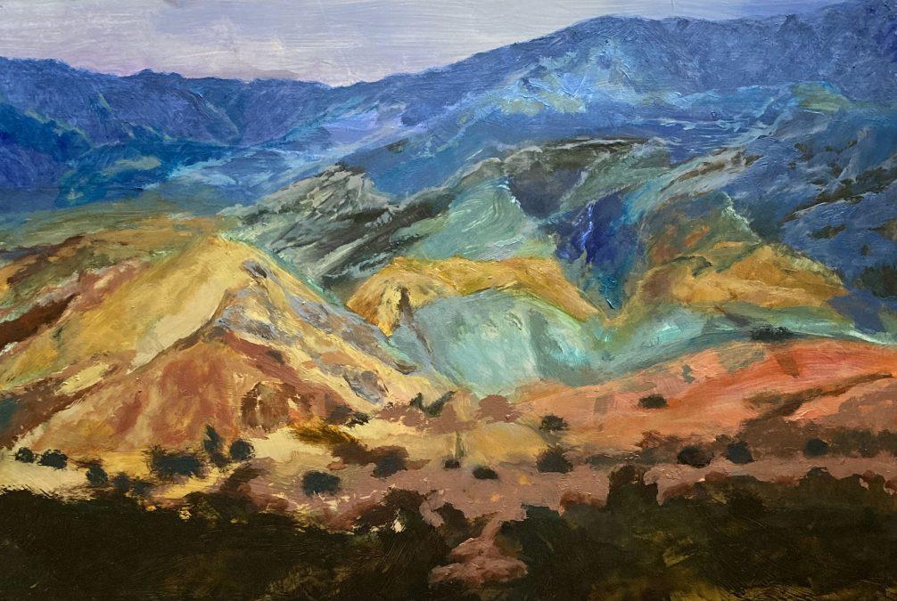 West Towards Los Alamos – SOLD