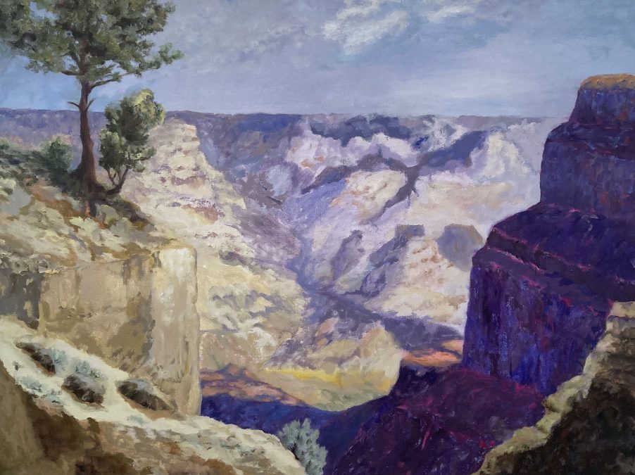 Grand Canyon. study after S. Parsons