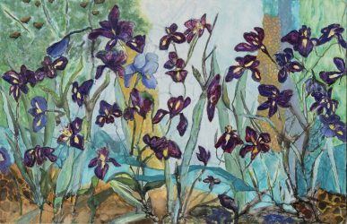 Irises for Helen